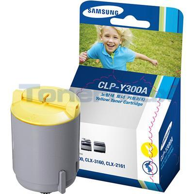 SAMSUNG CLP-300 TONER CARTRIDGE YELLOW